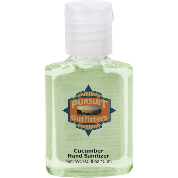 Green / Cucumber Scented Hand Sanitizer