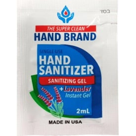 Single Use Gel Sanitizer Pack