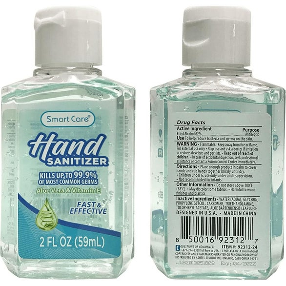 Clear / White Smart Care Hand Sanitizer