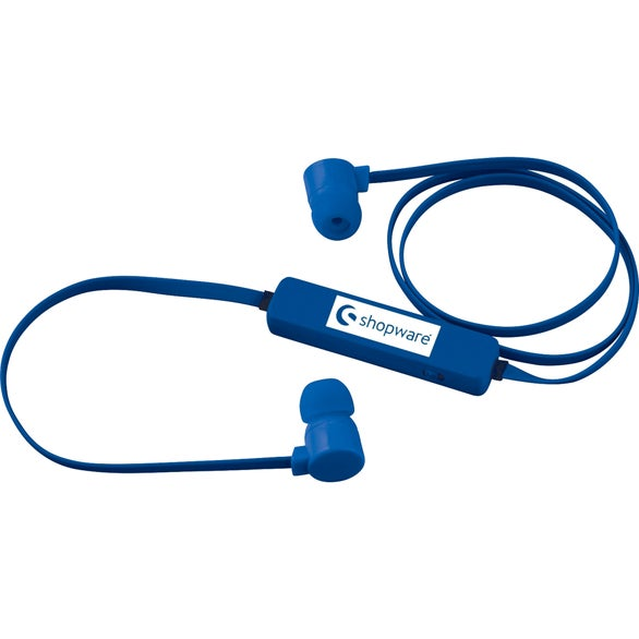 Royal Blue Colorful Bluetooth Earbuds