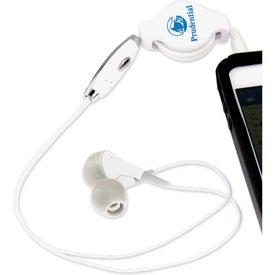 Noise Reducing Retractable Earphones