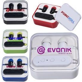 Wireless Bluetooth Earbuds in Case