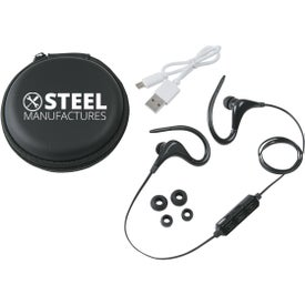 Wireless Ear Buds in Travel Case