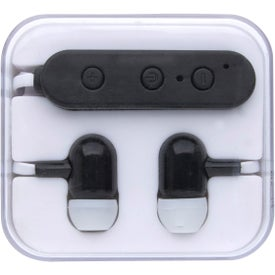 Wireless Earbuds In Square Case (55 mAh)