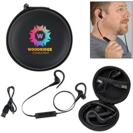 Wireless Earbuds In Travel Case