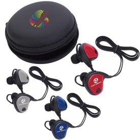 Xoopar Bluetooth Earbuds with Logo Cap