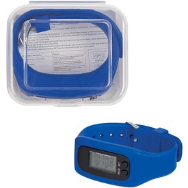 Digital LCD Pedometer Watches in Case