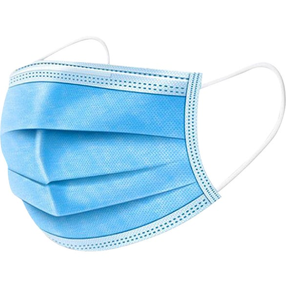 Blue Disposable Protective Face Mask