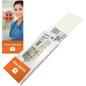 "First Aid Pocket Kit (1.375"" x 3.375"" x 0.3125"")"