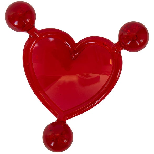 Red Heart Massager