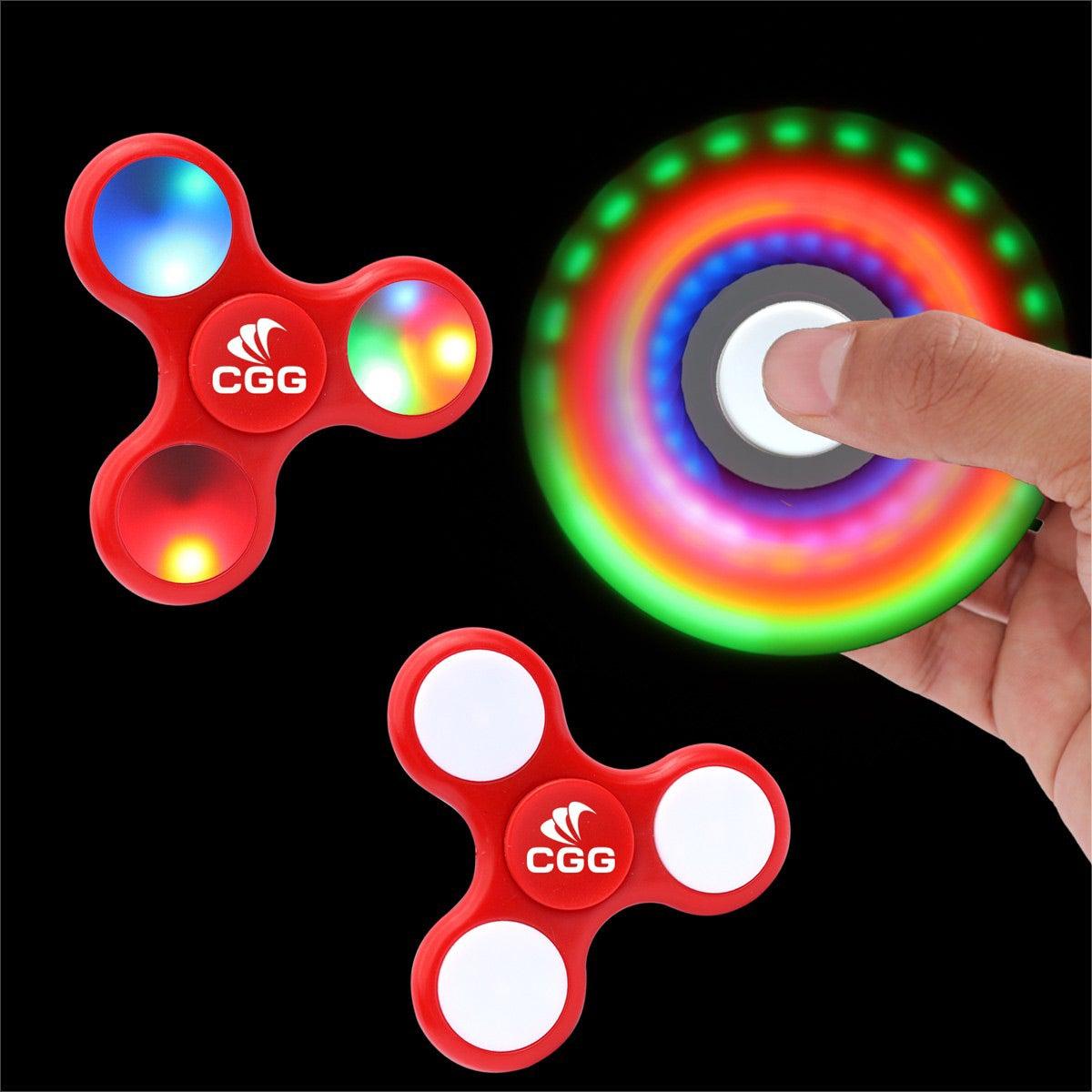 LED Lighted Fidget Spinner