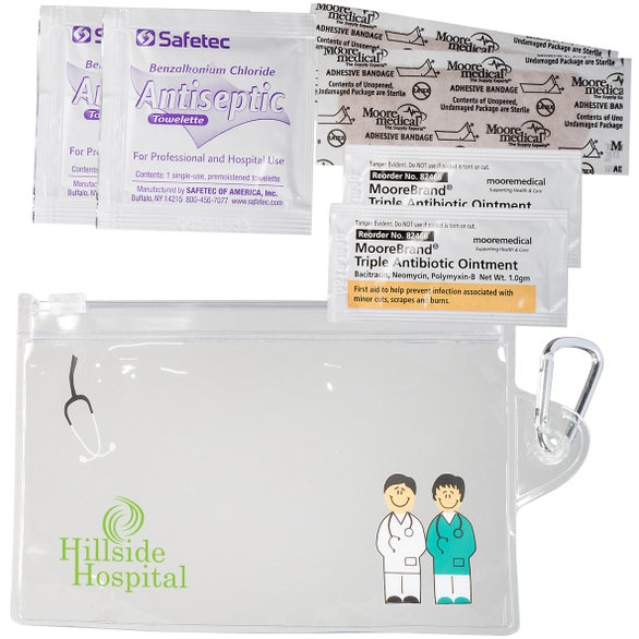 Clear On-The-Go First Aid Kit