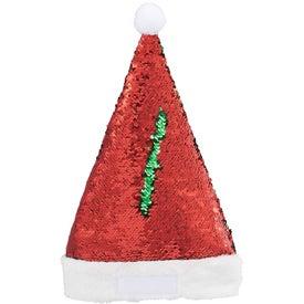 Snazzy Sequin Santa Hat (Unisex)