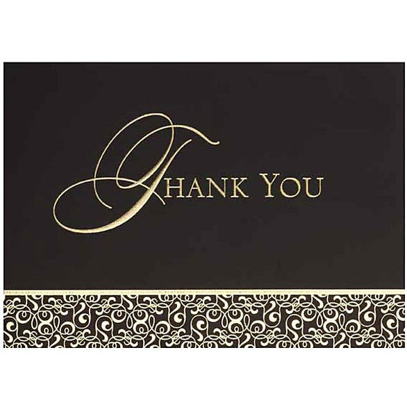 See Item Thank You Card