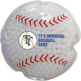 Baseball Gel Bead Hot Cold Pack (Full Color Digital)