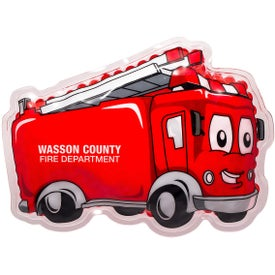 Fire Truck Aqua Pearls Hot and Cold Pack