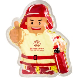 Firefighter Aqua Pearls Hot Cold Pack