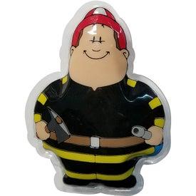 Fireman Bert Gel Beads Hot Cold Pack
