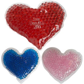 Gel Beads Hot and Cold Pack Hearts