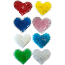 Gel Beads Hot and Cold Pack Heart