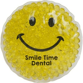 Gel Beads Hot and Cold Pack Smiley Faces