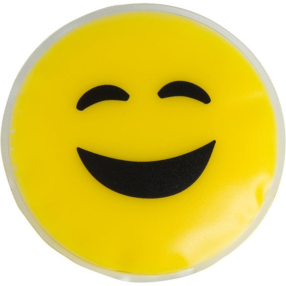 Yellow Happy Face Emoji Chill Patch