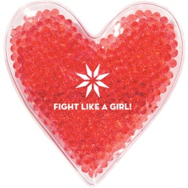 Heart Shape Gel Beads Hot Cold Pack