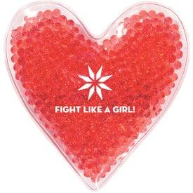 Heart Shape Gel Beads Hot Cold Pack