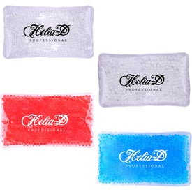 Large Rectangular Promo Beads Cold/ Hot Packs