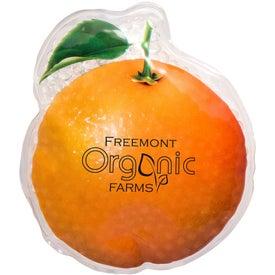 Orange Art Aqua Pearls Hot Cold Pack