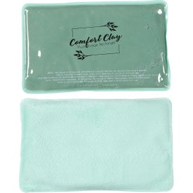 Plush Large Rectangle ComfortClay Hot Cold Pack