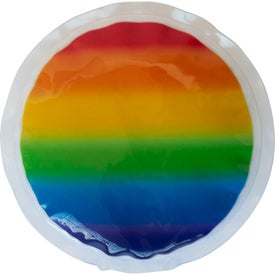 Rainbow Gel Beads Hot/Cold Pack Circle