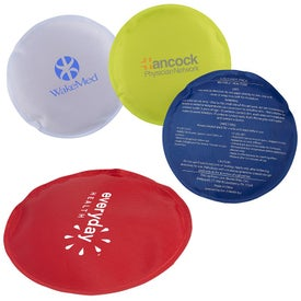 Round Nylon Covered Gel Hot and Cold Pack