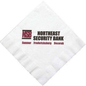 1 Ply Coin Edge Embossed Luncheon Napkin (Large Quantity)