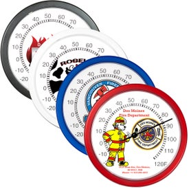 "Wall Thermometer (10"" Dia.)"