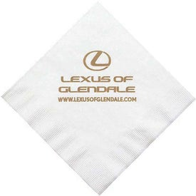 2 Ply White Luncheon Napkin
