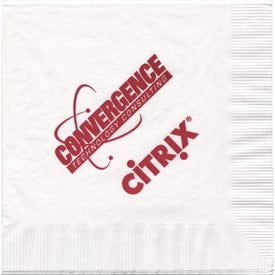 3 Ply White Luncheon Napkin