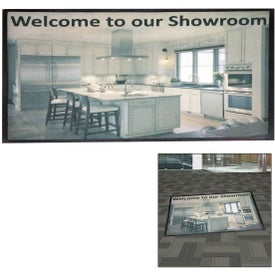 Point of Purchase Dye Sublimated Floor Mat