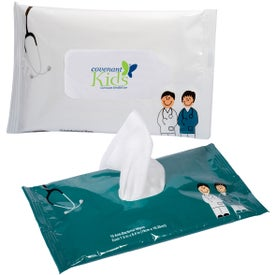 Antibacterial Pouch Wipes (Doctor and Nurse)