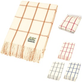 Charleston Fringed Throw Blankets