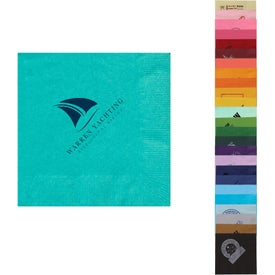 Colored Beverage Napkins (Small Quantity)