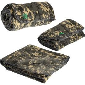 Digital Camo Fleece Blanket