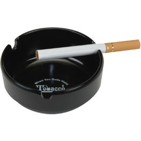 Durable Plastic Heatproof Ashtray with 3 Grooves