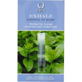 Essential Oil Sample Vial with Card (3 mL)