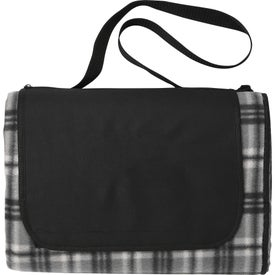 Extra Large Plaid Picnic Blanket Totes