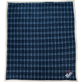Field and Co. Plaid Sherpa Blanket