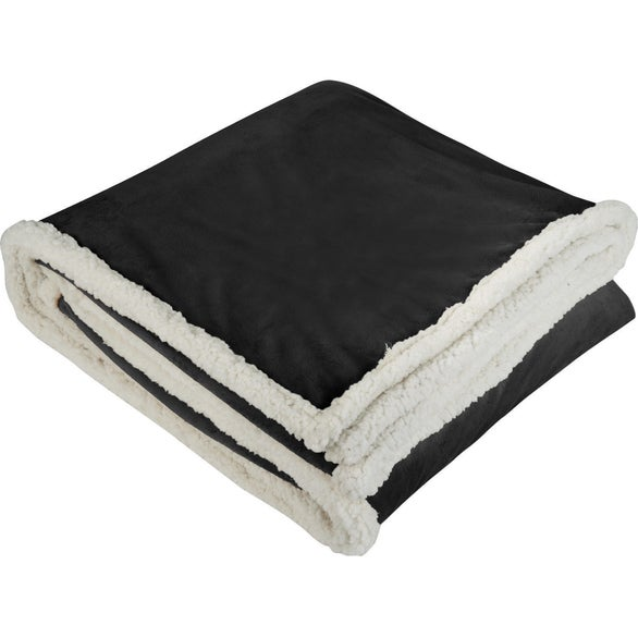 Black / White Field and Co. Sherpa Blanket