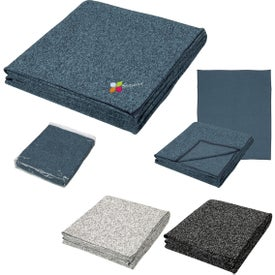 Heathered Fleece Blankets