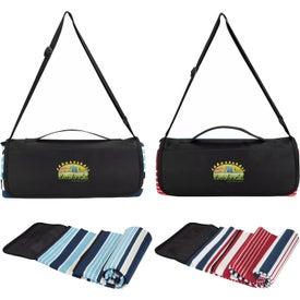 Shoulder Belt Picnic Blanket