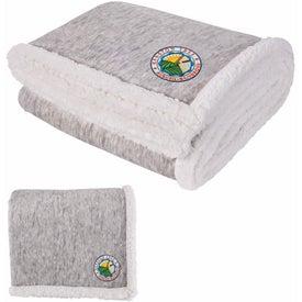 Two-Tone Sherpa Blanket